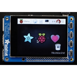 "Adafruit Adafruit PiTFT Plus 2.8"" Touchscreen Display for Raspberry Pi"