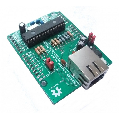 Arduino ethernet shield enc j kit k ciseco
