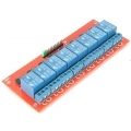 8-Channel 5V Relay Module with Opto Isolated inputs