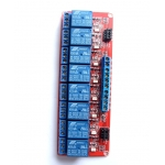 8-Channel 5V Relay Module with Opto Isolated inputs (Hi/Low Trigger)