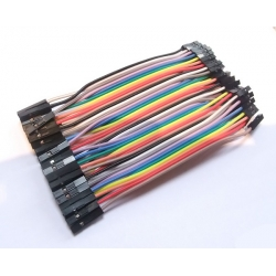 Jumper Wires - Female/Female 10cm (40 pack)