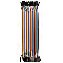 HobbyTronics Ribbon Cable Jumper Wires Female 40 (20cm)