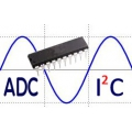 10 Channel Analog to Digital Converter (ADC) I2C