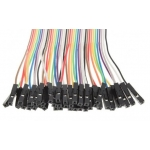 Ribbon Cable Jumper Wires Female 40 (20cm)