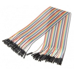 HobbyTronics Ribbon Cable Jumper Wires Female 40