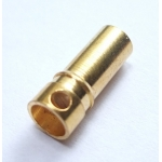 Gold-Plated 3.5mm Bullet Connectors (5 pairs)