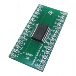 HobbyTronics FT232RL USB to Serial DIL Breakout (HT)