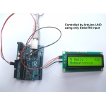 LCD Backpack V2 - I2C and Serial RX