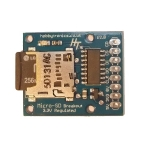 MicroSD Breakout Board Regulated with Logic Conversion V2