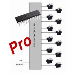HobbyTronics 12 Channel Servo*PRO Controller IC