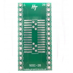 HobbyTronics HT SOIC to DIP Adapter 28-Pin