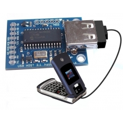 HobbyTronics USB Host Board - CDC Class Serial Software