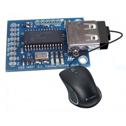 HobbyTronics USB Host Board - USB Mouse Software