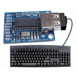 HobbyTronics USB Host - Keyboard to ASCII Converter