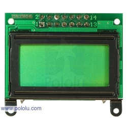 Pololu 8x2 Caractere LCD - Lunette Noire (interface parallele)