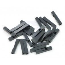 Crimp Connector Housing: 0.1 inch pitch 1-Pin 25-Pack