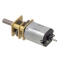 10:1 Micro Metal Gearmotor HP Extended Shaft