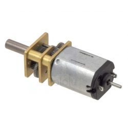 Pololu 10:1 Micro Metal Gearmotor HP Extended Shaft