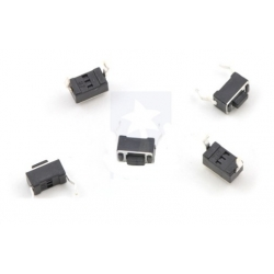 Pololu Mini PCB Pushbutton Switch: 2-Pin, SPST, 50mA (5-Pack)