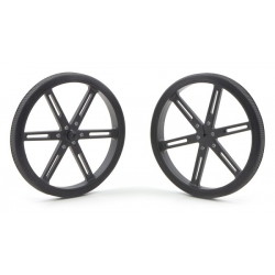 Pololu Pololu Wheel 90x10mm Pair - Black
