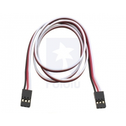 "Pololu Servo Extension Cable 24"" Female-Female"