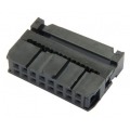 IDC Socket 2x8 pin 0.1in Female