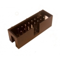 Shrouded Box Header 2x8 pin