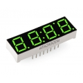 Affichage 4-Digits 7-Segment Display - Verte