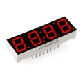Affichage 4-Digits 7-Segment Display - Rouge