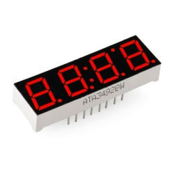 SparkFun Affichage 4-Digits 7-Segment Display - Rouge