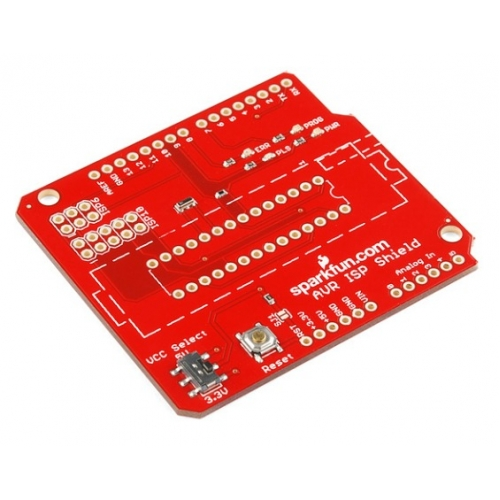 Arduino Avr Isp Programming Shield Kit Dev 11168 Sparkfun