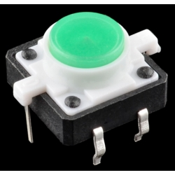 SparkFun LED Tactile Button - Green