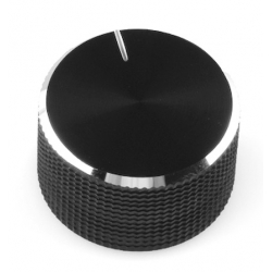 SparkFun Black Metal Knob - 14x24mm