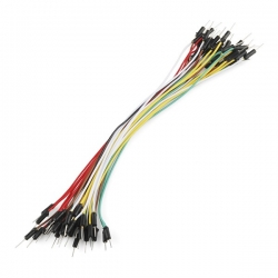 "SparkFun Jumper Wires Standard 7"" M/M Pack of 30"