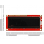 Basic 16x2 Character LCD - White on Black 3.3V