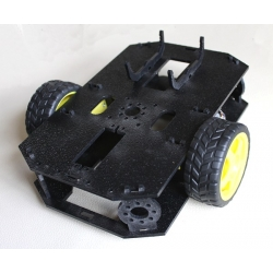 Shadow Chassis with Motors/Wheels
