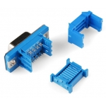 Serial DB9 Connector - Ribbon Cable (Male, 9-pin)