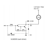 ULN2003A Darlington Array 7 NPN 500mA