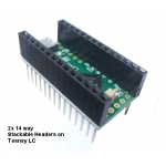 Teensy Stackable Header Kit (3/LC)